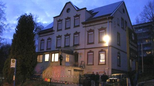 """Das """"nationale Bildungszentrum"""" an der Markersdorfer Straße in Chemnitz"""