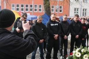 """Neonazi-""""Gedenken"""" in Nordhausen, Foto: Kai Budler"""