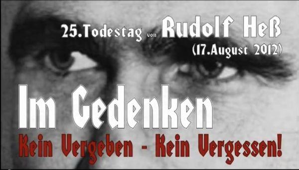 "Offene NS-Verherrlichung bei den ""Autonomen Nationalisten Nordhausen"" © Screenshot"