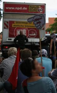 "NPD:keine ""normale Partei"", Foto Kai Budler"