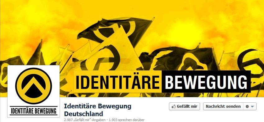 FB Identitäre Bewegung Deutschland