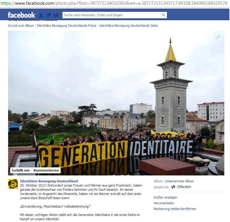 Identitäre ermöglichten mit Waffenverkauf Islamistenanschlag in Frankreich