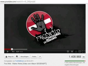 """Aus dem Musikclip """"Wahre Werte"""" © Screenshot von YouTube"""