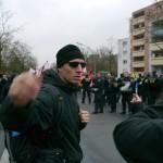 Journalisten wurden mehrfach von den Rechtsextremisten bedroht © Jesko Wrede