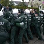 Es gab mehrere Festnahmen © Jesko Wrede
