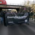 Aus ganz Deutschland waren die Rechtsextremisten angereist © Jesko Wrede