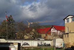 """Neonazi-Treffpunkt """"Braunes Haus"""" in Jena; Photo: A.R."""