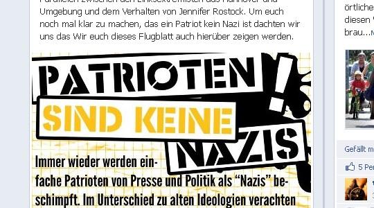 Frei.Wild Flugblatt Screenshot