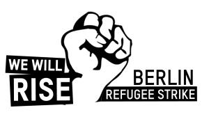 "Das Logo des Flüchtlingsprotests ""Refugee Tent Action"" ©  asylstrikeberlin"