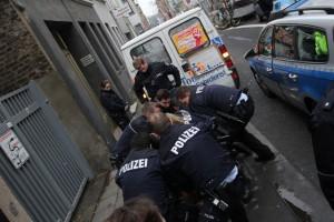 In Köln eskalierte die Situation durch ein unverhältnismäßiges Vorgehen der Polizei © Marco Pietta
