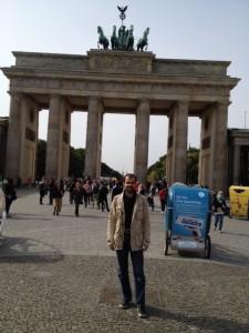 Auch den Hungerstreik am Brandenburger Tor Ende letzten Jahres hat Khan mitgemacht © refugeestrike