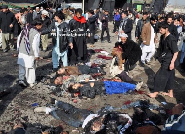 Für ihn sind Bilder wie diese die Realität, die er in Afghanistan erlebt hat © fb.com/afghan1111