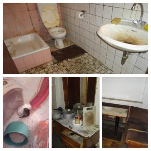 Bilder von dem Zimmer in Hessen, in dem die dreiköpfige Familie eineinhalb Jahre lang leben musste © Mina
