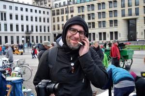 Oliver Höfinghoff setzt sich für eine menschenwürdigere Asylpolitik in Deutschland ein © Enno Lenze