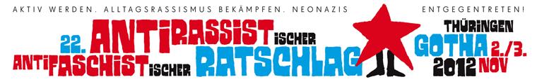 """22 Jahre Engagement: Der """"antirassistische und antifaschistische Ratschlag"""" aus Thüringen"""