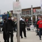 Auftaktkundgebung vor dem Bahnhof. © ARUG