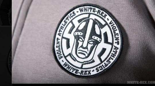 Modemarke mit Nazisymbolik. Das White Rex-Logo © Screenshot