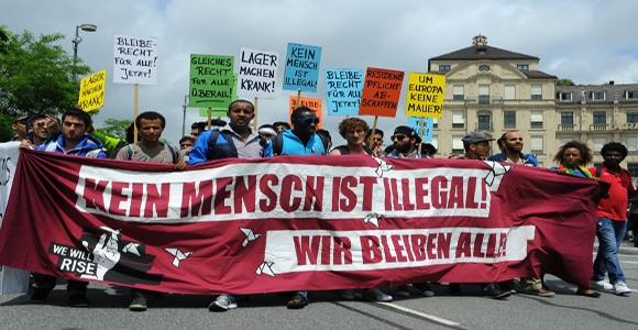 Flüchtlingsprotest