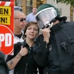 """Anmelderin Maria Fank ist auch im """"Ring Nationaler Frauen"""" der NPD aktiv © Jesko Wrede"""