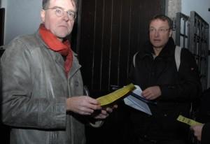 Karl Richter (BIA) und Michael Stürzenberger (Die Freiheit) © Robert Andreasch