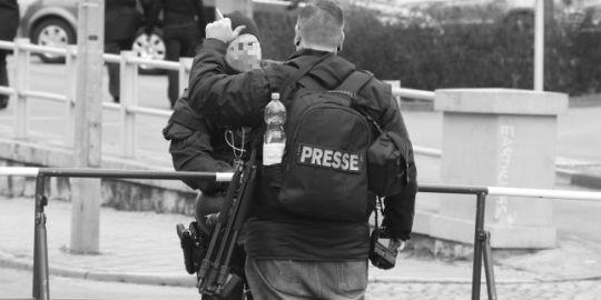Extrem Rechte als Presse in Weimar, Bild: Felix M. Steiner