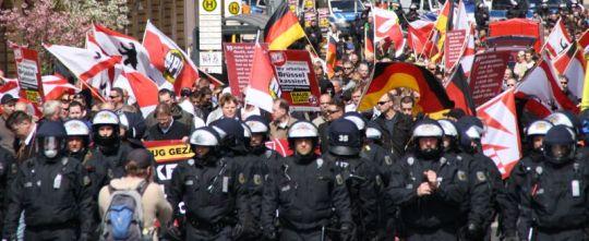 Symbolbild: Auch die NPD-Thüringen ist nun im Wahlkampf