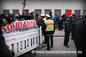 Homophobe Demo Stuttgart © beobachternews