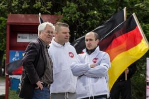 NPD-Kundgebung Erfurt