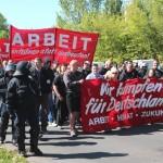 1. Mai 2014 Rostock, Foto: Presseservice-Rathenow