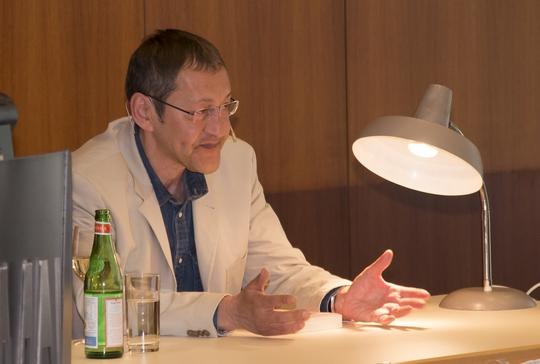 Akif Pirinçci liest bei der AfD in Nürnberg © Timo Müller