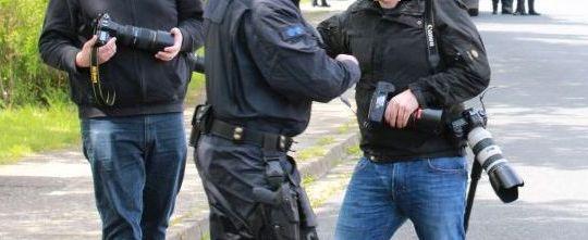 Polizei behindert Pressearbeit im Eichsfeld