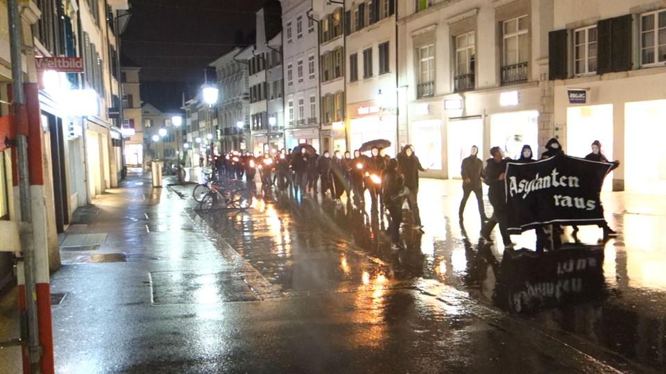Aufmarsch Solothurn 2014