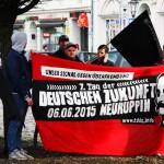 Brandenburg - Kundgebung der - Gefangenenhilfe- (15 von 55)
