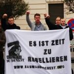 Brandenburg - Kundgebung der - Gefangenenhilfe- (50 von 55)
