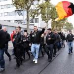 Einige hatten Deutschland Fahnen mitgebracht