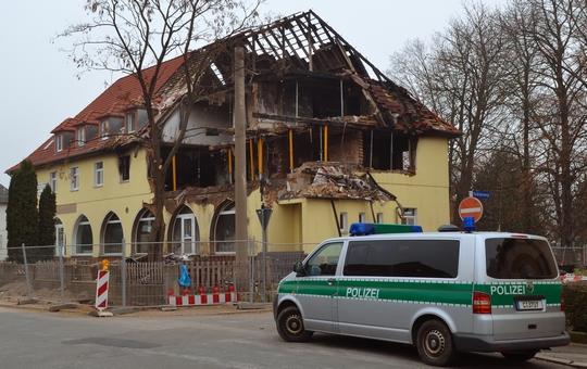 Die ausgebrannte Wohnung der NSU-Terroristen in Zwickau | Foto: André Karwath