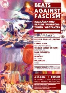 beats against fascism erfurt