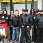 und 200 Neonazis schlossen sich dem Aufmarsch in Bamberg an