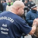 Teilnehmer der Hooligan-Kundgebung | © Christian Martischius