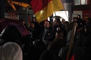 NPD-Landesvorsitzender Claus Cremer ahm auch an der DÜGIDA-Demo teil.