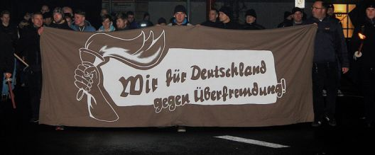 Rund 130 Neonazis marschierten in Wittstock, Foto: Presseservice Rathenow