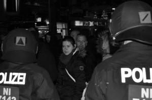 NPD-Chefin Christina Krieger, Foto: Recherche Nord