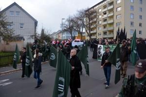 """Neonazistischer """"Trauermarsch"""" 2014 in Wunsidel Sören Kohlhuber"""