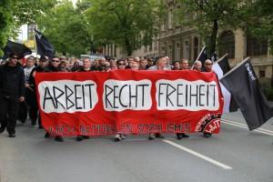 Auch in Plauen beteiligten sich schon Thüringer Neonazis am Aufmarsch