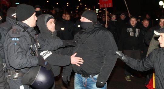 auch bei MAGIDA kam es immer wieder zu Attacken auf Journalisten © Lukas Beyer
