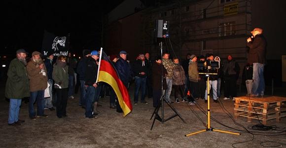 """REP-Landeschef Heiko Müller: """"BraMM lebt weiter in anderen Städten."""" © Anton Lommon"""
