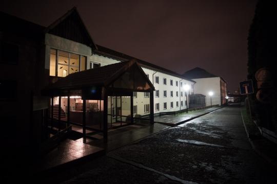 Im ehemaligen Hotel Leonardo in Freital sind derzeit 30 Flüchtlinge untergebracht. Foto: Marcus Fischer
