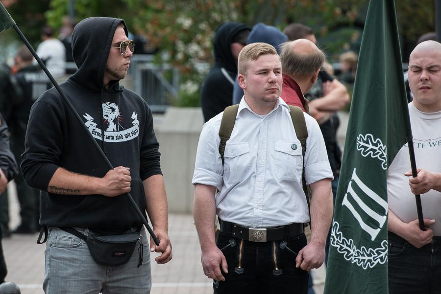 Fotogalerie: Aufmarsch der Neonazi-Partei \