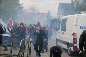 Neonazi-Demo in Saalfeld © Störungsmelder