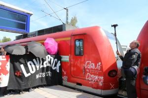 Blockade - Bad Nenndorf 2015